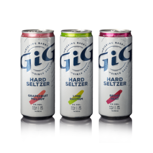 GiG Hard Seltzer Variety Pack Flavors