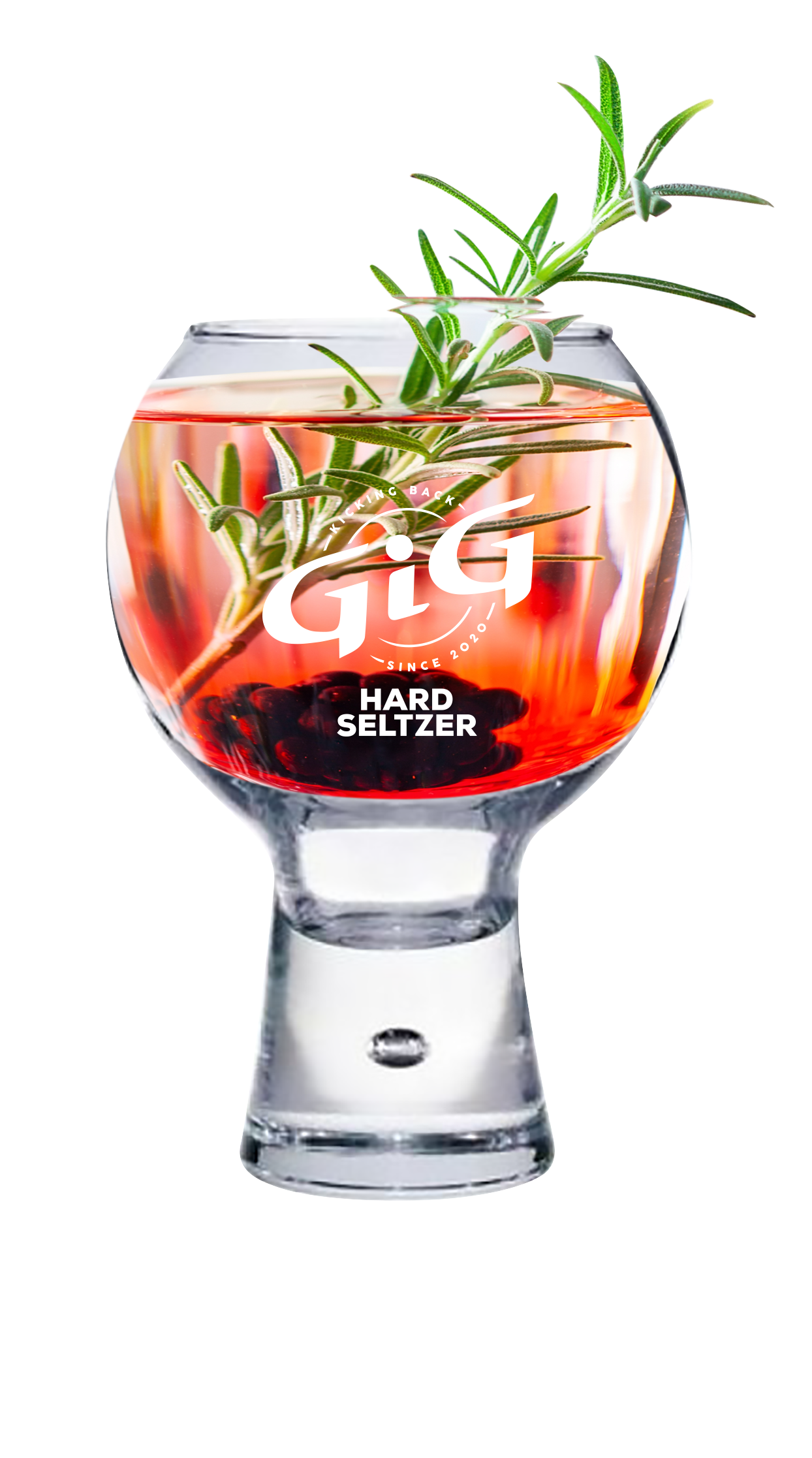 GiG Hard Seltzer Rosemary cocktail
